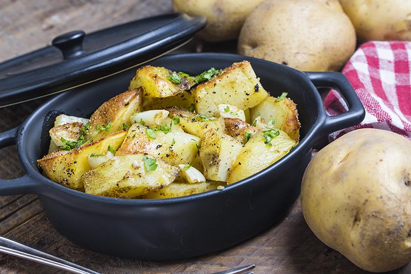 Receta De Patatas Asadas Con Hierbas Aromáticas