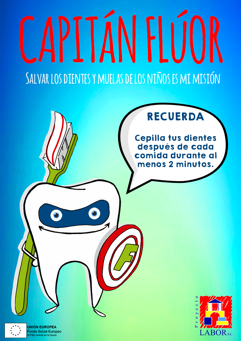 Higiene bucodental Capitan Fluor