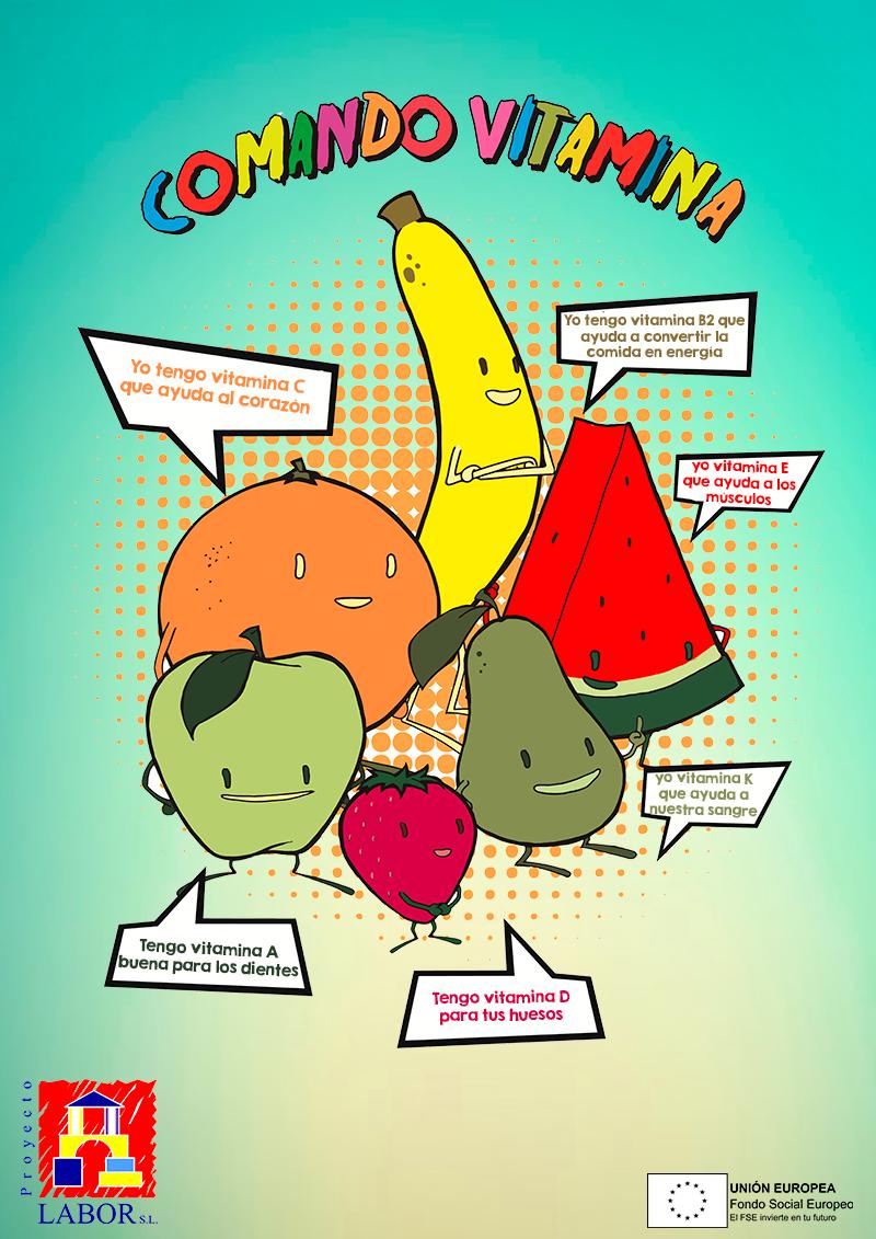Consumo de frutas en el comedor escolar