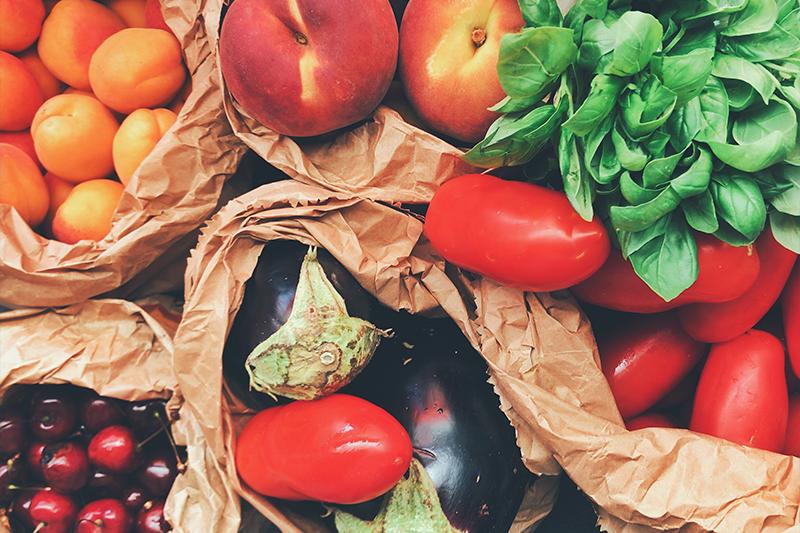 Frutas y Verduras: consejos para los padres
