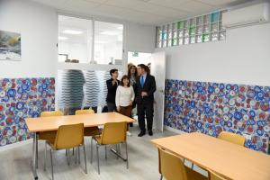 Imágenes de la inauguración del centro de día de la Asociación de las Encinas por Emiliano García Page