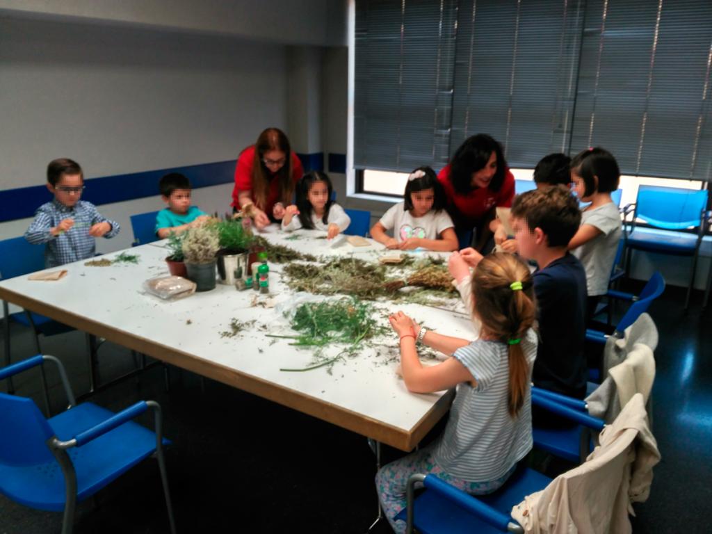 taller de plantas aromaticas Ibercaja