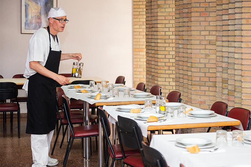 Restauración colectiva: catering para centros ocupacionales